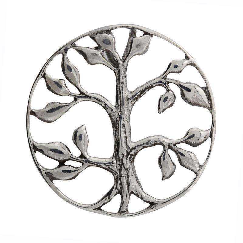 8ef8c8fd3cd SØLV vedhæng: Yggdrasil (livets træ)